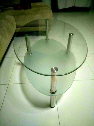 🚚 Glass Center Table