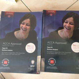 ACCA BPP P3 Business Analysis Study Text And Revision Kit