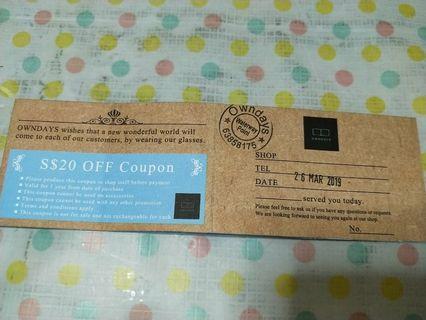 Owndays discount coupon