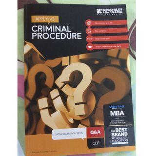 CLP Criminal Procedure Q&A
