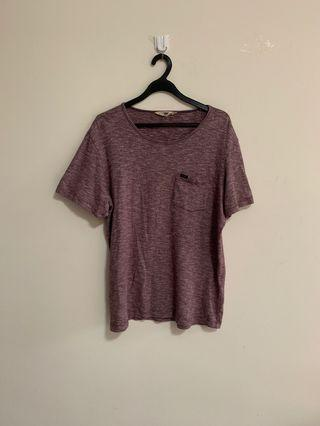 Lee Purple Washed Tee