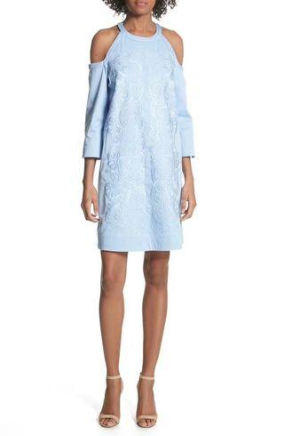 Ted baker ice blue dress