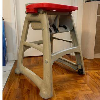 Rubbermaid High Chair 高腳椅連餐盤
