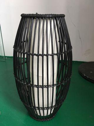 (可小議)Display 黑色圓桶形吊燈