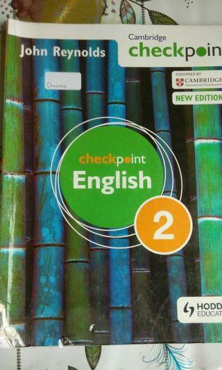 Check point English 2