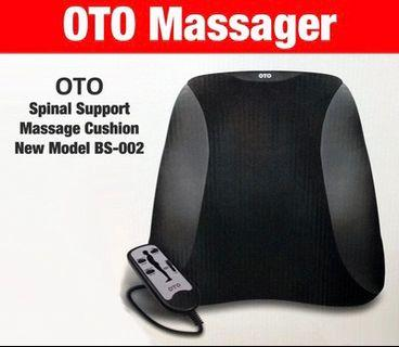 🚚 New OTO Back Massager Spine Support Cushion