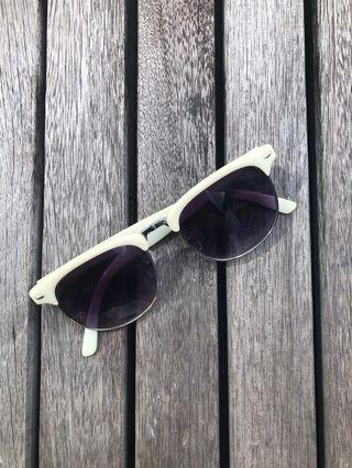 Cotton on Sunglasses - blue frame ray ban style