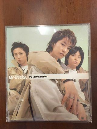 """W-inds. """"Try your emotion"""" EP"""