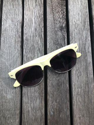 Cotton On Sunglasses - pastel green frame ray ban style