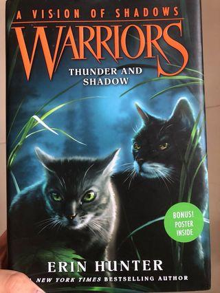 warriors: a vision of shadows, thunder and shadow