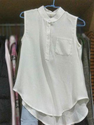 🚚 無袖小襯衫