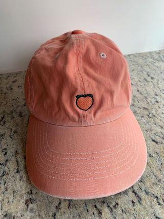 Unif Peach Emoji Hat