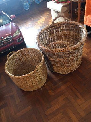 🚚 Rattan Basket