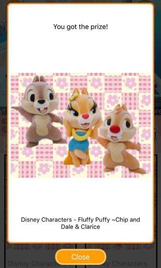 [TOREBA] Disney Characters - Fluffy Puffy ~Chip and Dale & Clarice~