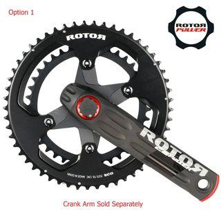 Rotor Direct Mount Chainrings ALDHU 3D+ - New
