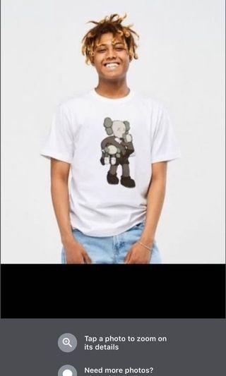 Kaws X Uniqlo Shirt last collection