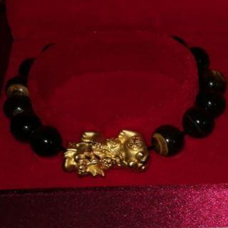 999 Gold Pixiu Bracelet from Taka Jewellery