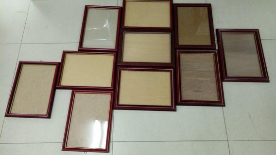 🚚 A4純木畫框/相框/獎狀框