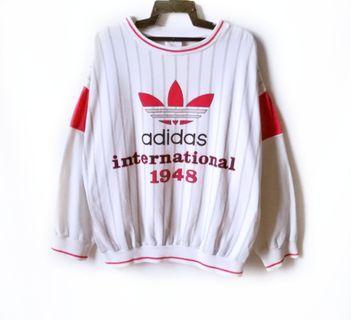 Vtg 90s Adidas Multicolor Sweatshirt