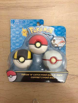 Official Pokémon Pokeballs