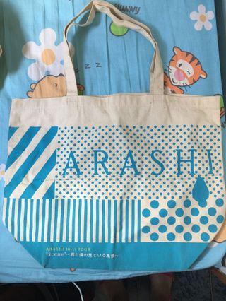 """嵐 ARASHI LIVE TOUR 10-11 """"Scene""""~君と僕の見ている風景~ TOTE BAG"""