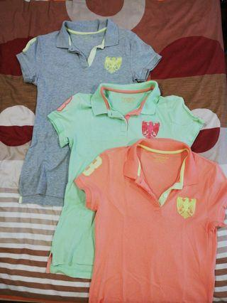 3 FOR RM 50. ONE FOR RM 20.Polo shirts