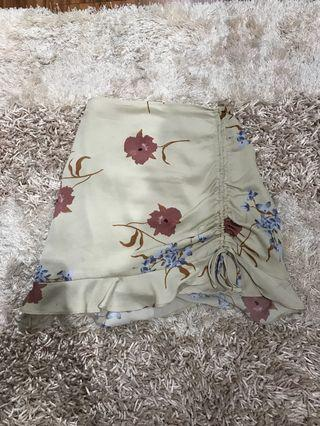 Ruched glassons skirt