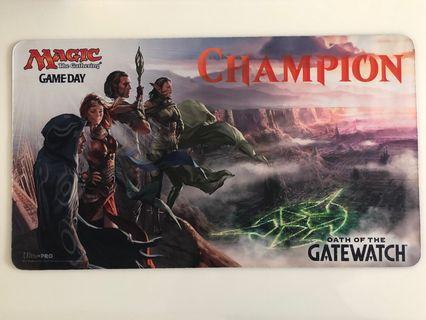 MTG Oath of the Gatewatch Game Day Champion Playmat