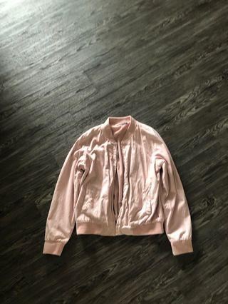 Brandy Melville pink kasey jacket