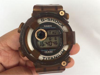 Casio G -Shock DW 8200k wrist watch Exhibit Premium from Japan