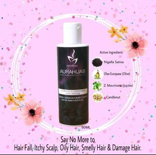 🚚 INSTOCK AURAHIJAB SHAMPOO AND CONDITIONER  WITH PERFUME 90ML