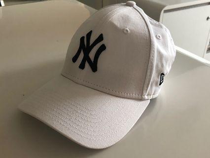 New Era NY Yankees White 9Forty Cap