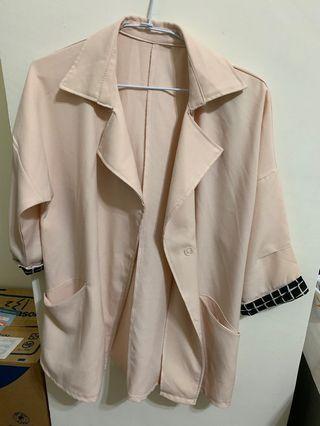 🚚 雪紡罩衫外套