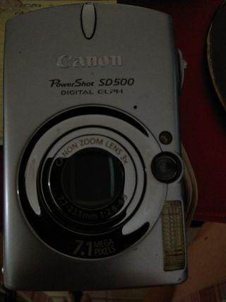 Canon mini camera