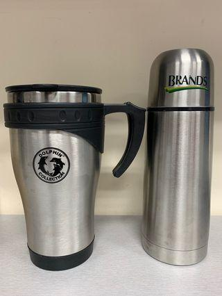 Thermos vacuum cup and flask