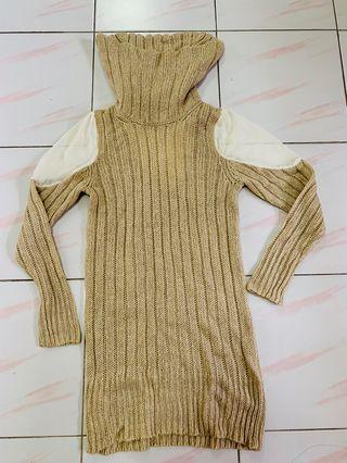 Knitted Turtleneck sweater/dress