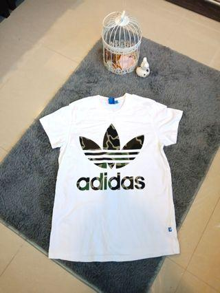 Authentic Adidas Big Trefoil Tee Tshirt #CarouRaya