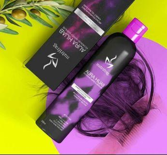 🚚 (FREE DELIVERY) INSTOCK AURAHIJAB SHAMPOO AND CONDITIONER  WITH PERFUME 200ML