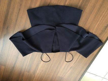 Preloved cold shoulder top