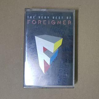 FOREIGNER : The Very Best Of Foreigner - Cassette