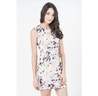 🚚 Ninth Poppy Abstract Printed Dress
