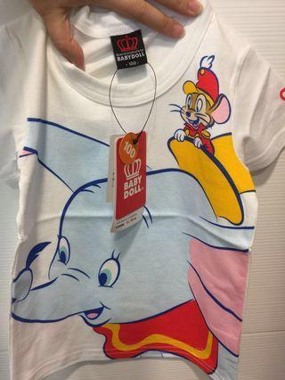(包郵)小飛象日本babydoll-100碼