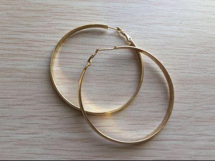 📮Gold hoop earrings