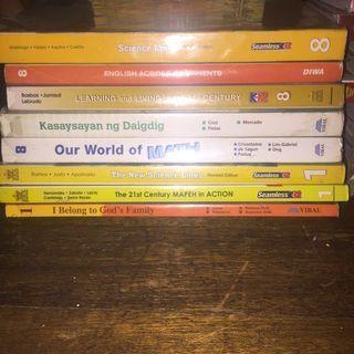 Grade 1, 2, 3, 5, 6, 7, 8, 9, 10 & 11 Textbooks