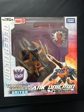 全新變形金剛Transformers Tomy限定版 United Ark Unicorn 星間帝王