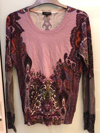 Flower print long sleeve blouse or top. Condition 9/10. Worn one time only. Thin comfortable material