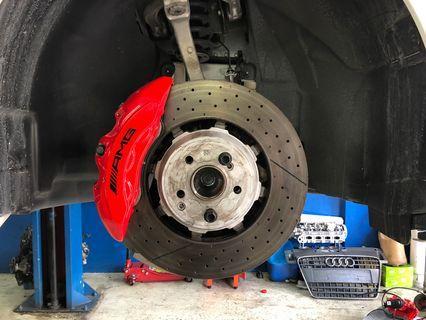 C63S AMG big brake kit