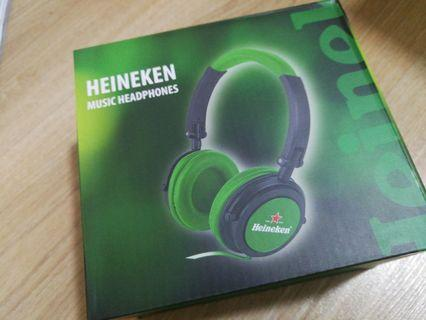 Limited Edition Head Phones (Heineken)