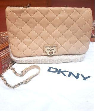 DKNY Lamb Leather Handbag