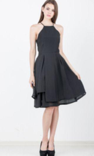 🚚 Ninth Janz Tiered Dress in Black